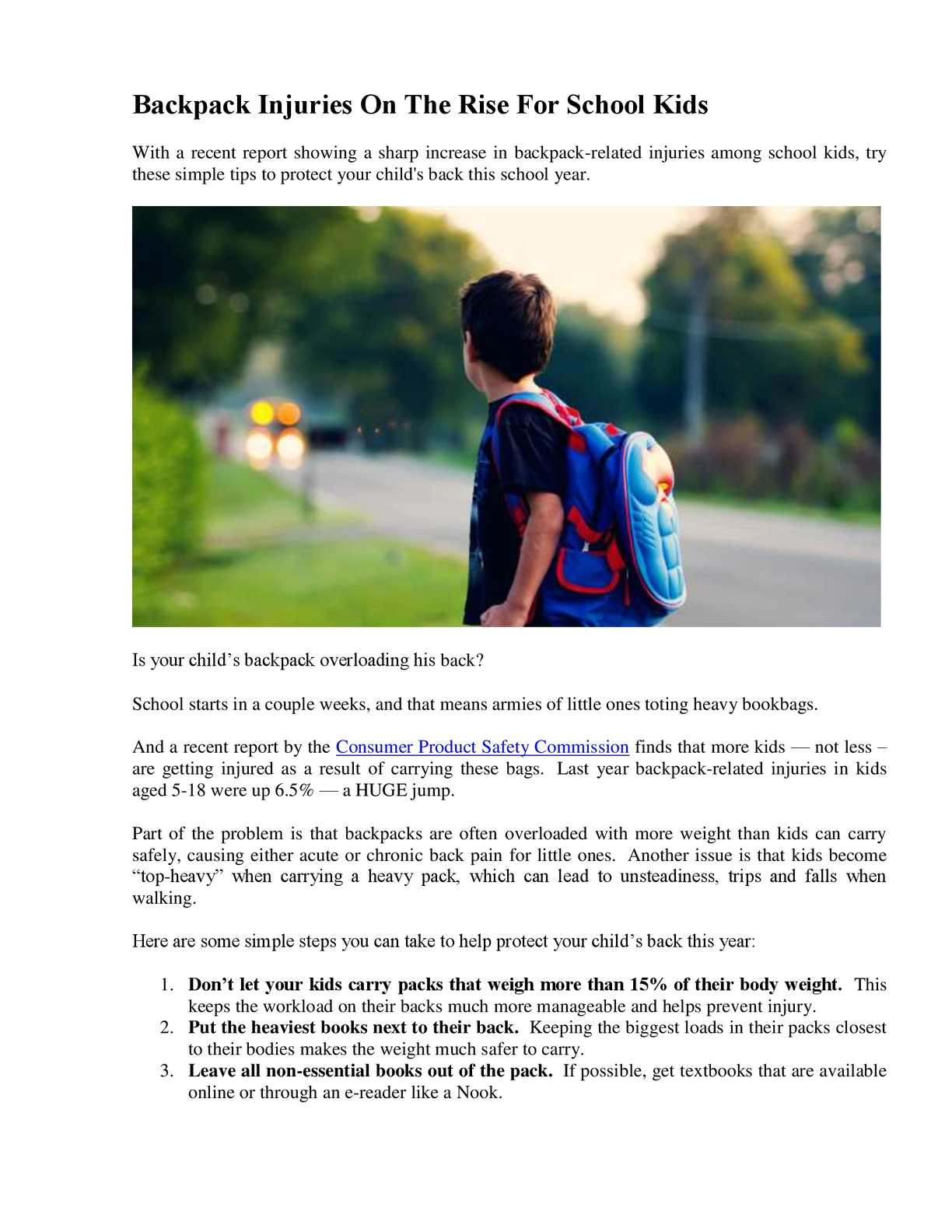 Calaméo - Backpack Injuries On The Rise For School Kids a566f2f5f9d37