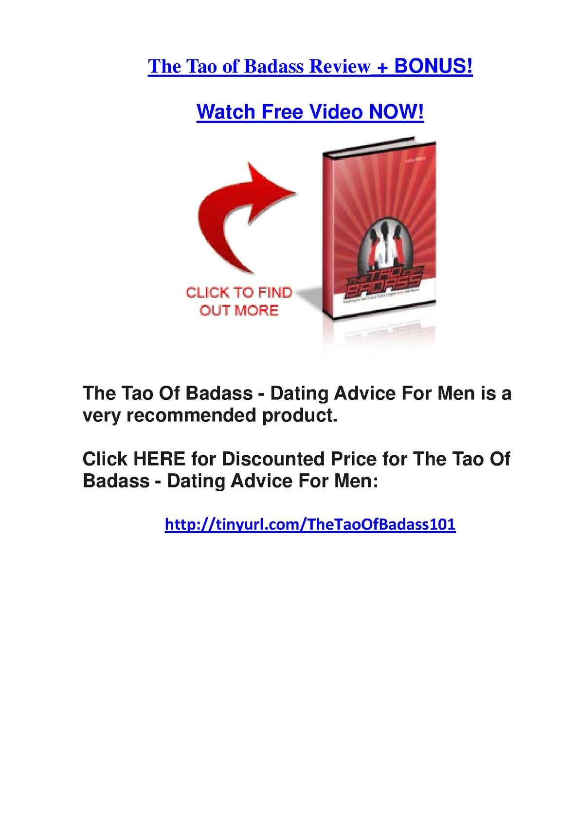 Tao von Badass Dating