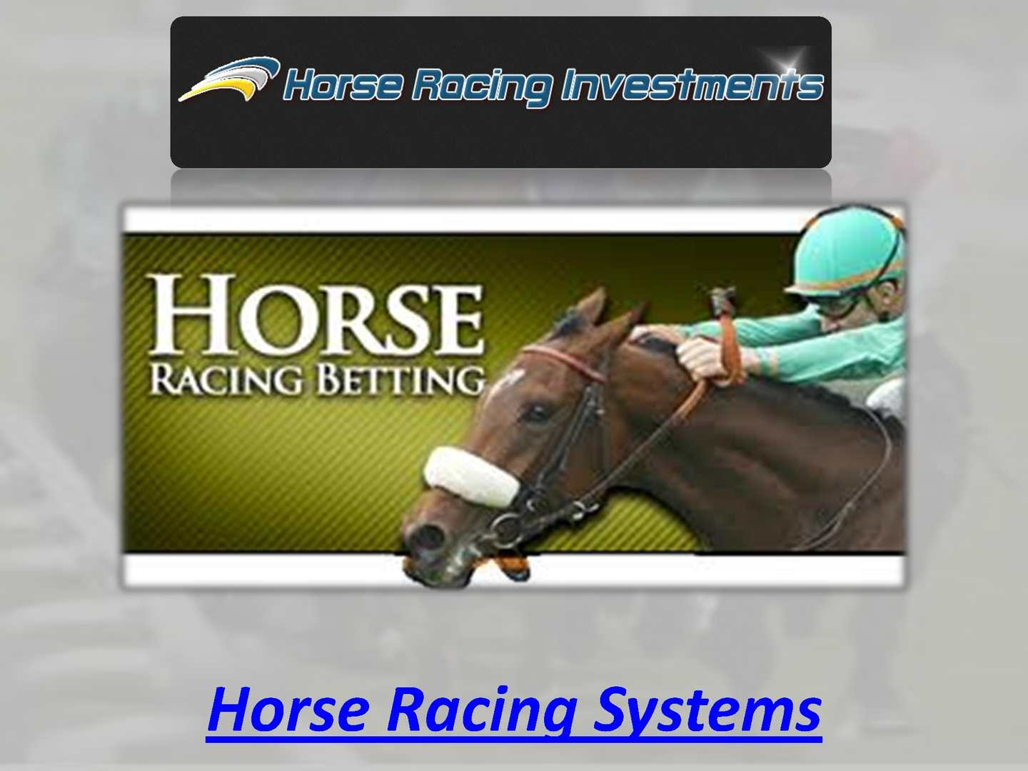 Horse Racing Systems - CALAMEO Downloader