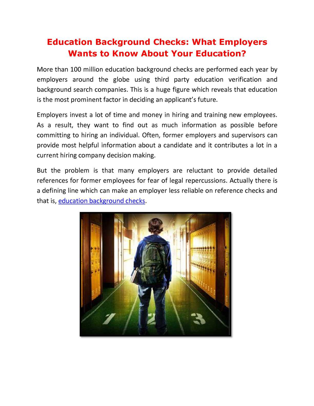 Calameo Education Background Checks What Employers Wants To Know