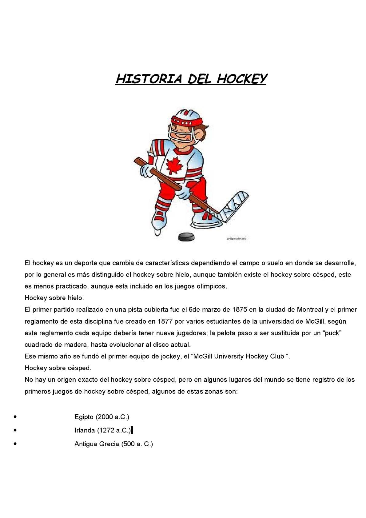 Del Hockey Stats