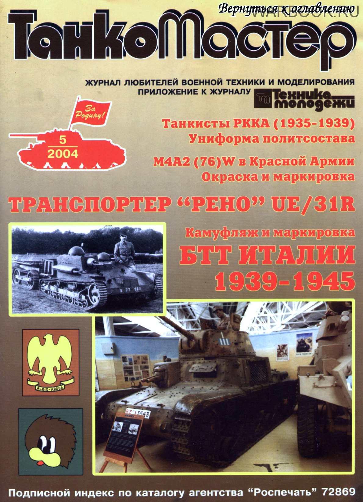 ТанкоМастер 2004-05