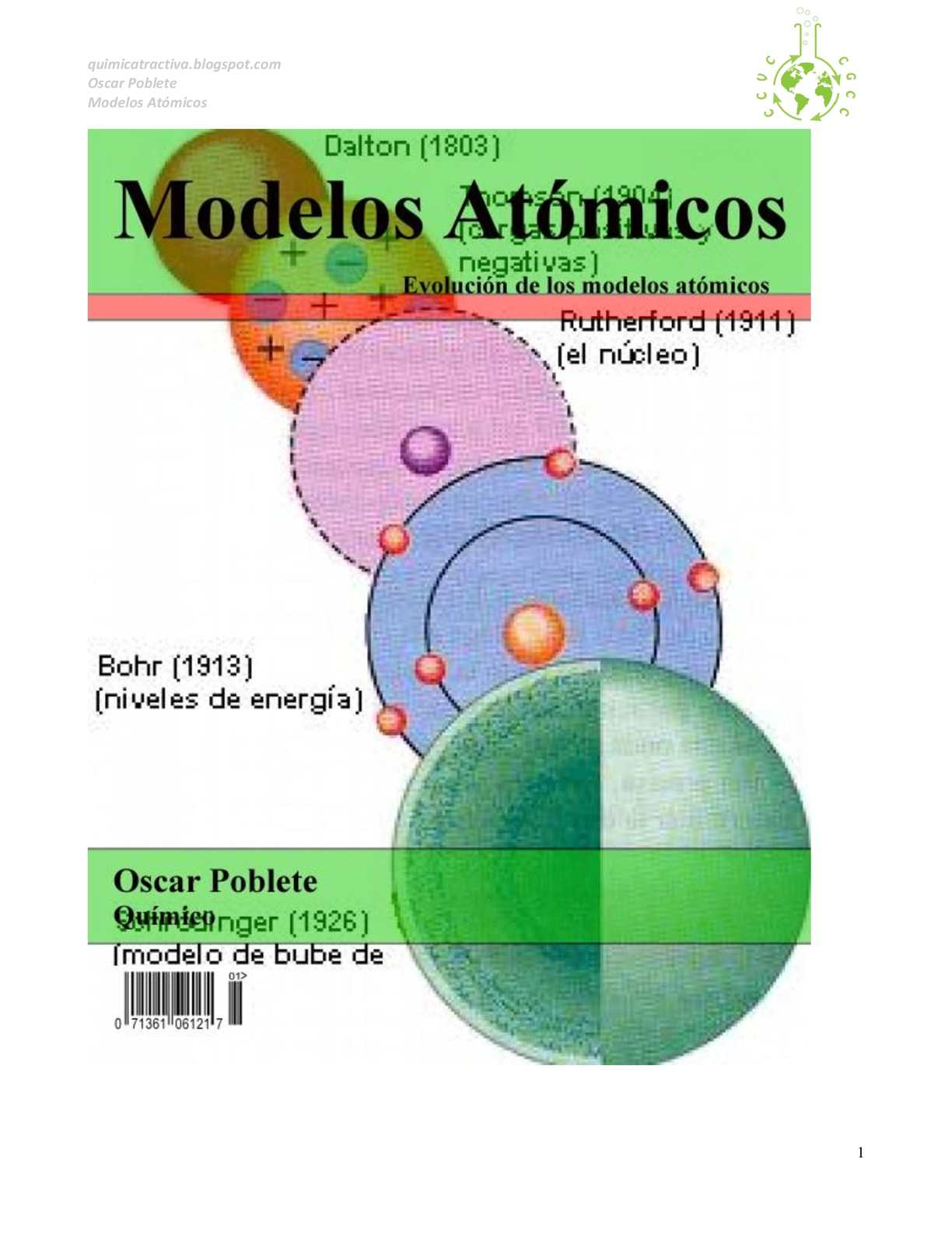 Calaméo Modelos Atómicos