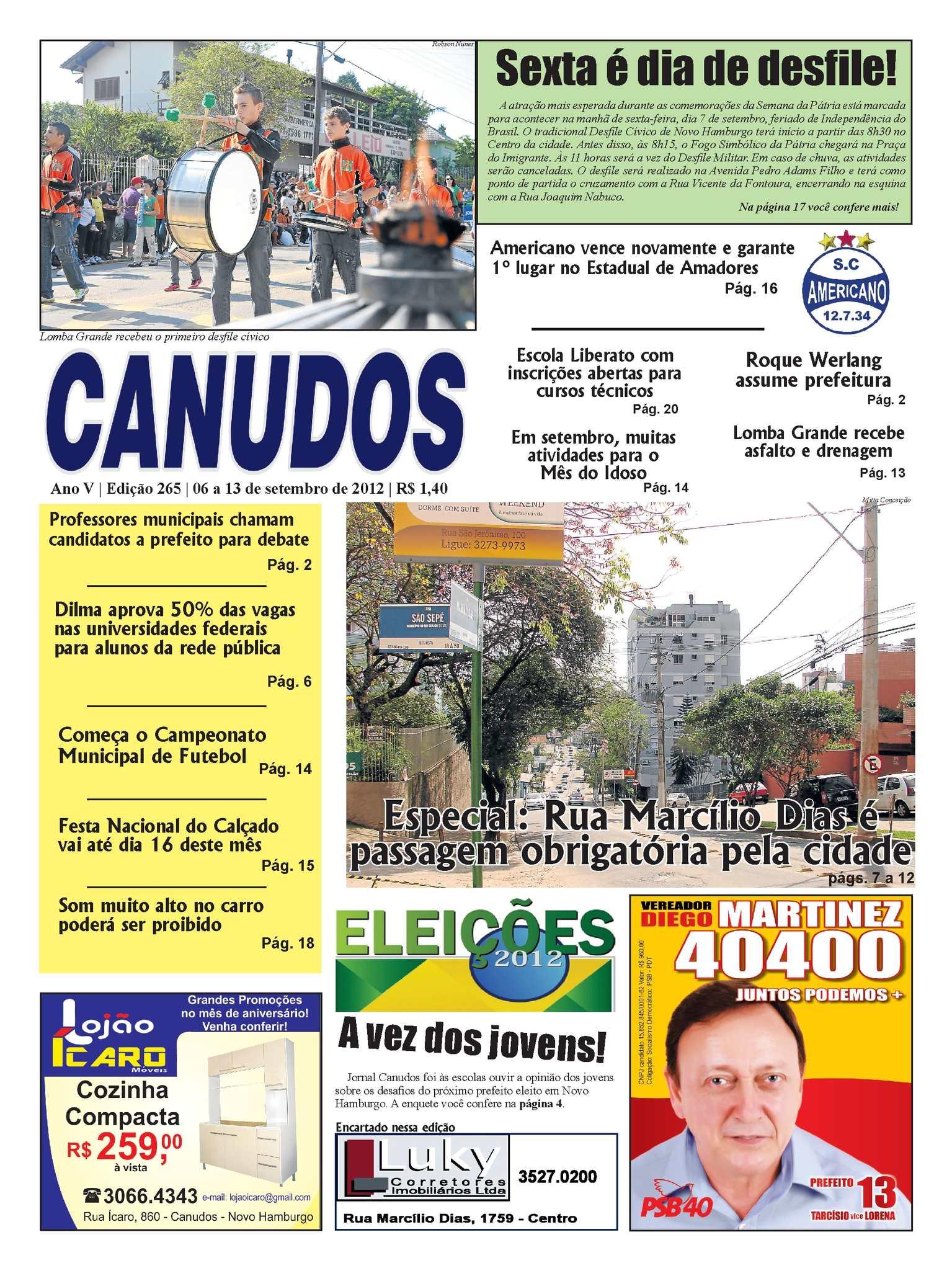 0d9a38cc63 Calaméo - Jornal Canudos - Edição 265