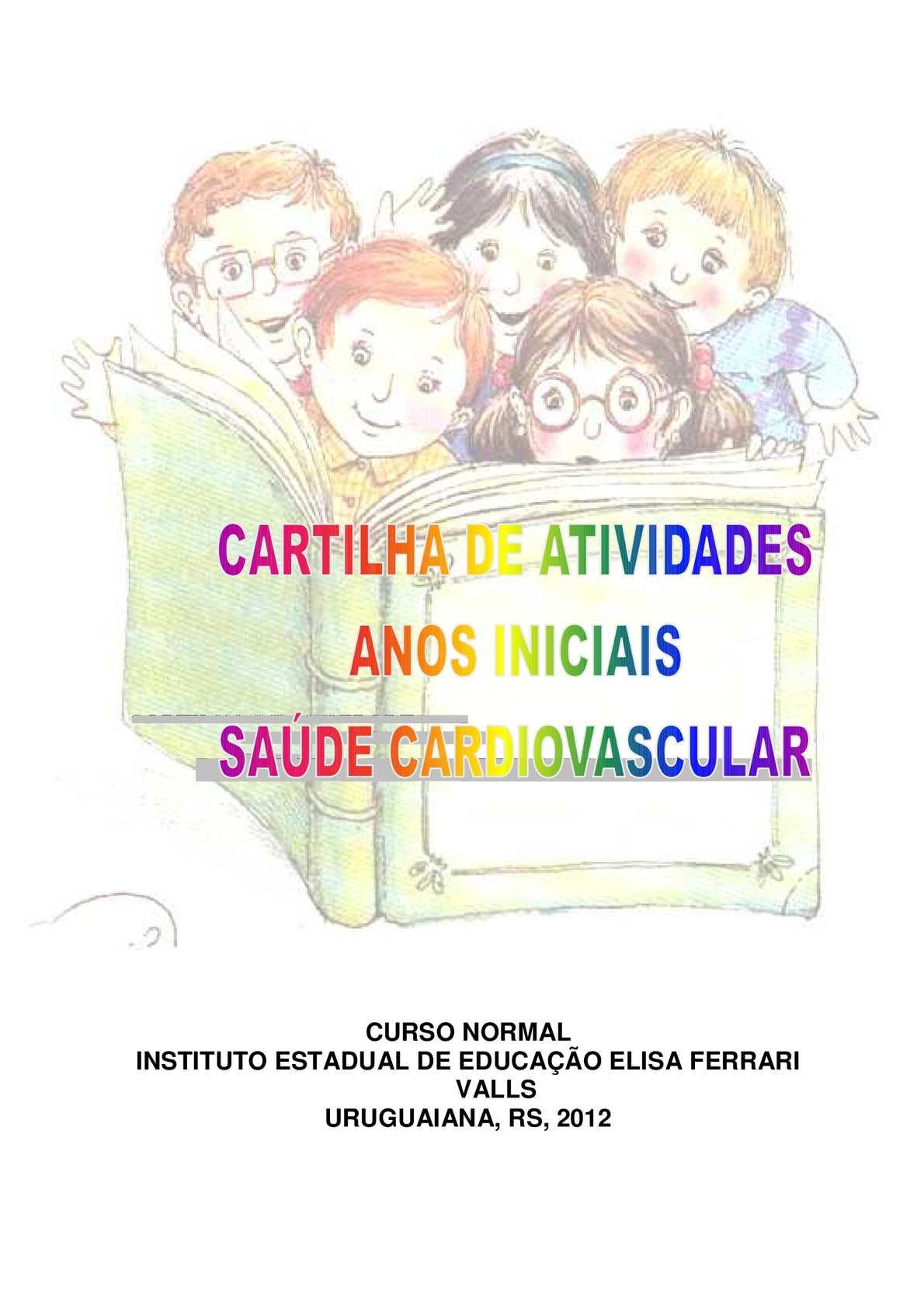 Calaméo - Cartilha de atividades (orientações para os professores) - anos  iniciais: saúde cardiovascular