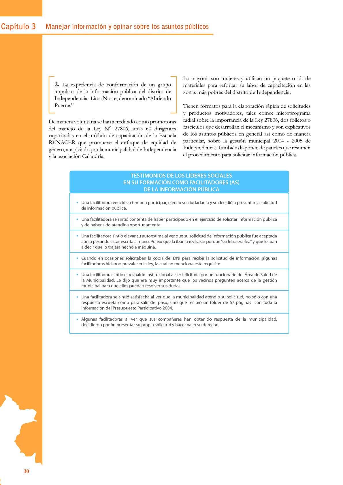 Guia De Participacion Ciudadana Del Peru Jne 2008 Calameo