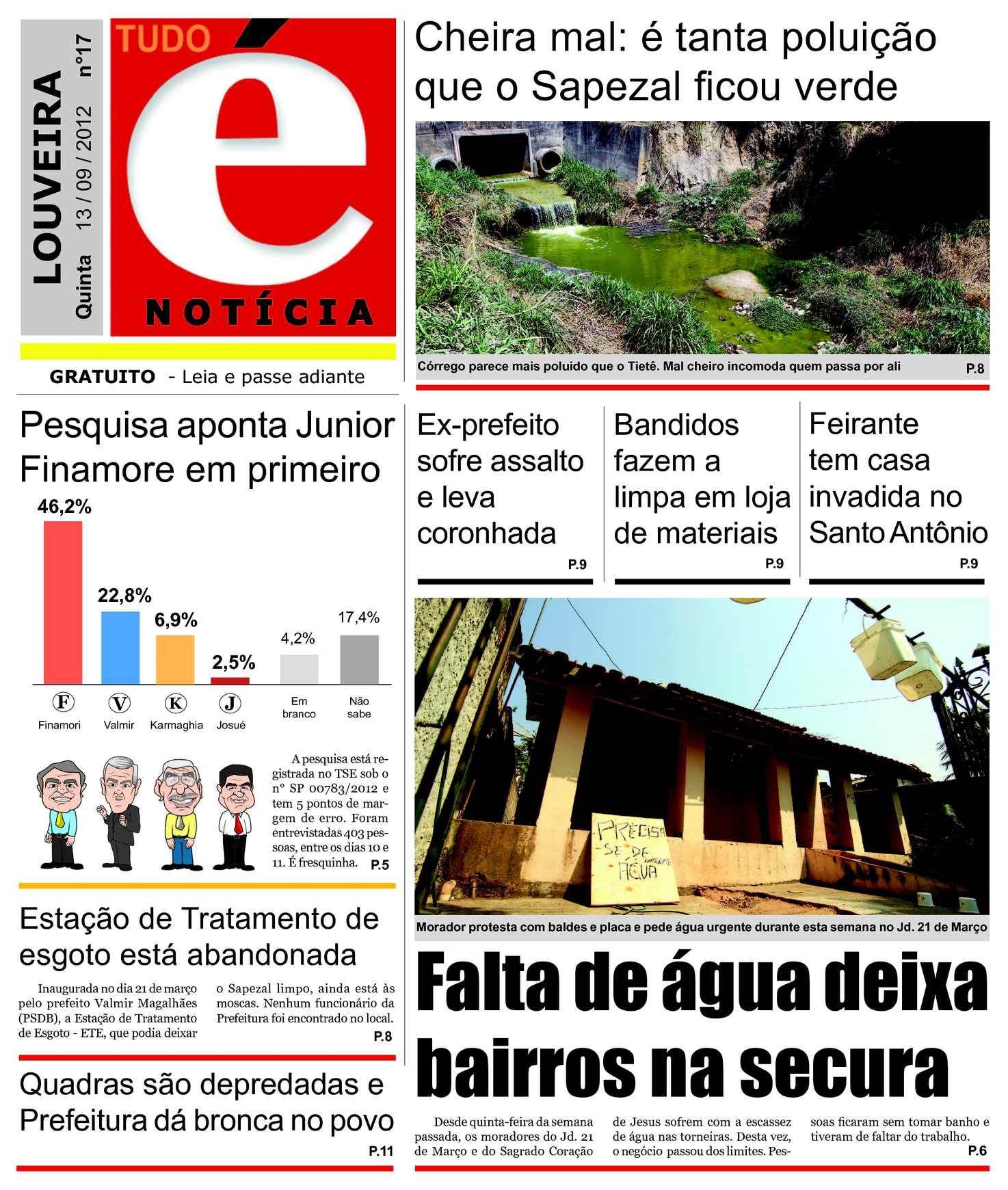 04913b030cb89 Calaméo - Tudo É Notícia - 13-09-2012