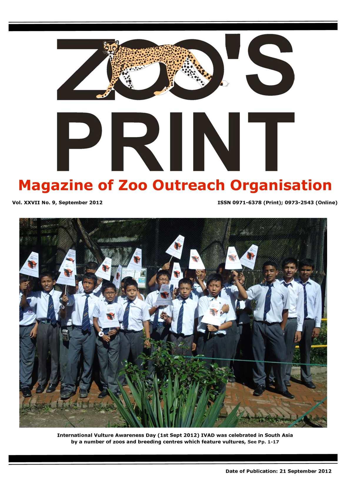 Calaméo - Zoos Print September 2012