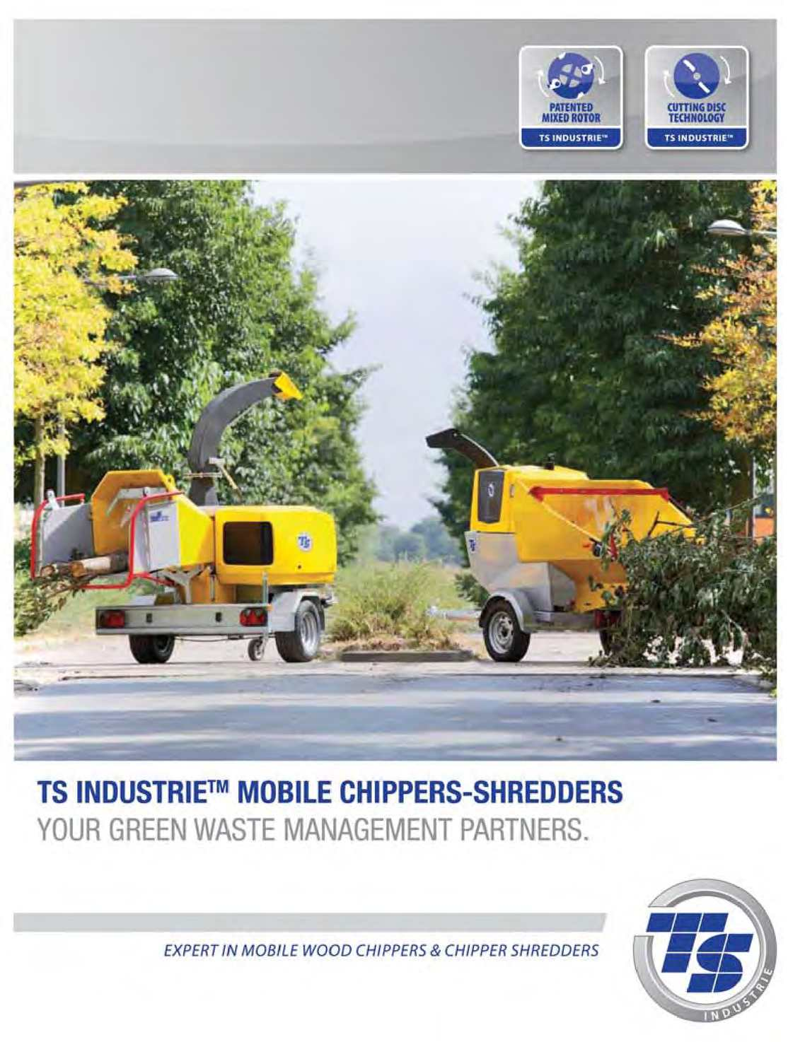 Calaméo - TS INDUSTRIE mobile Chippers-Shredders
