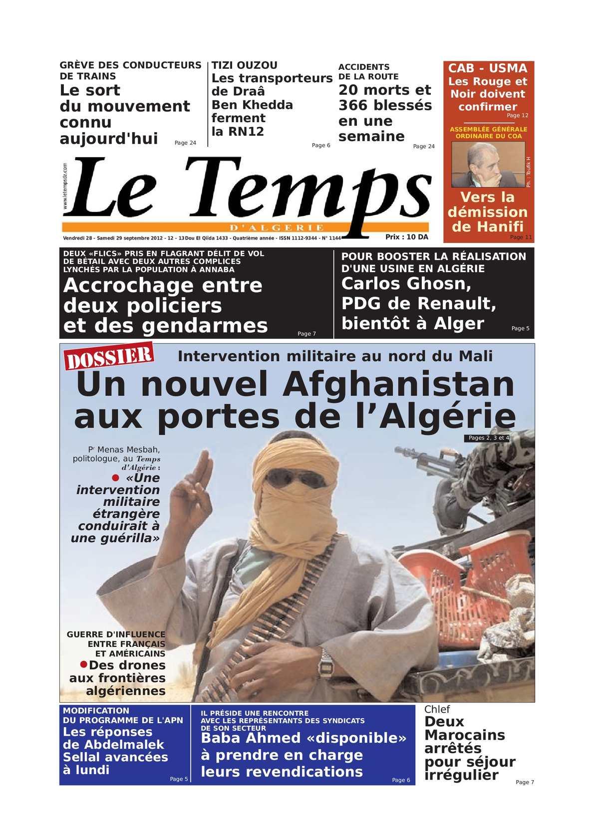 rencontre chlef algerie