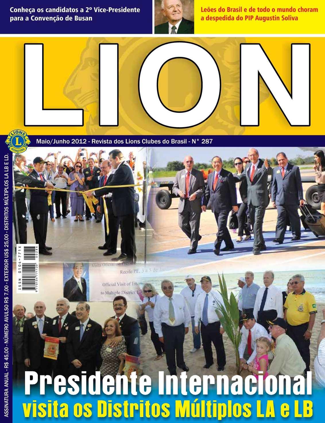Calaméo Revista Lion Em Português Distritos Múltiplos La