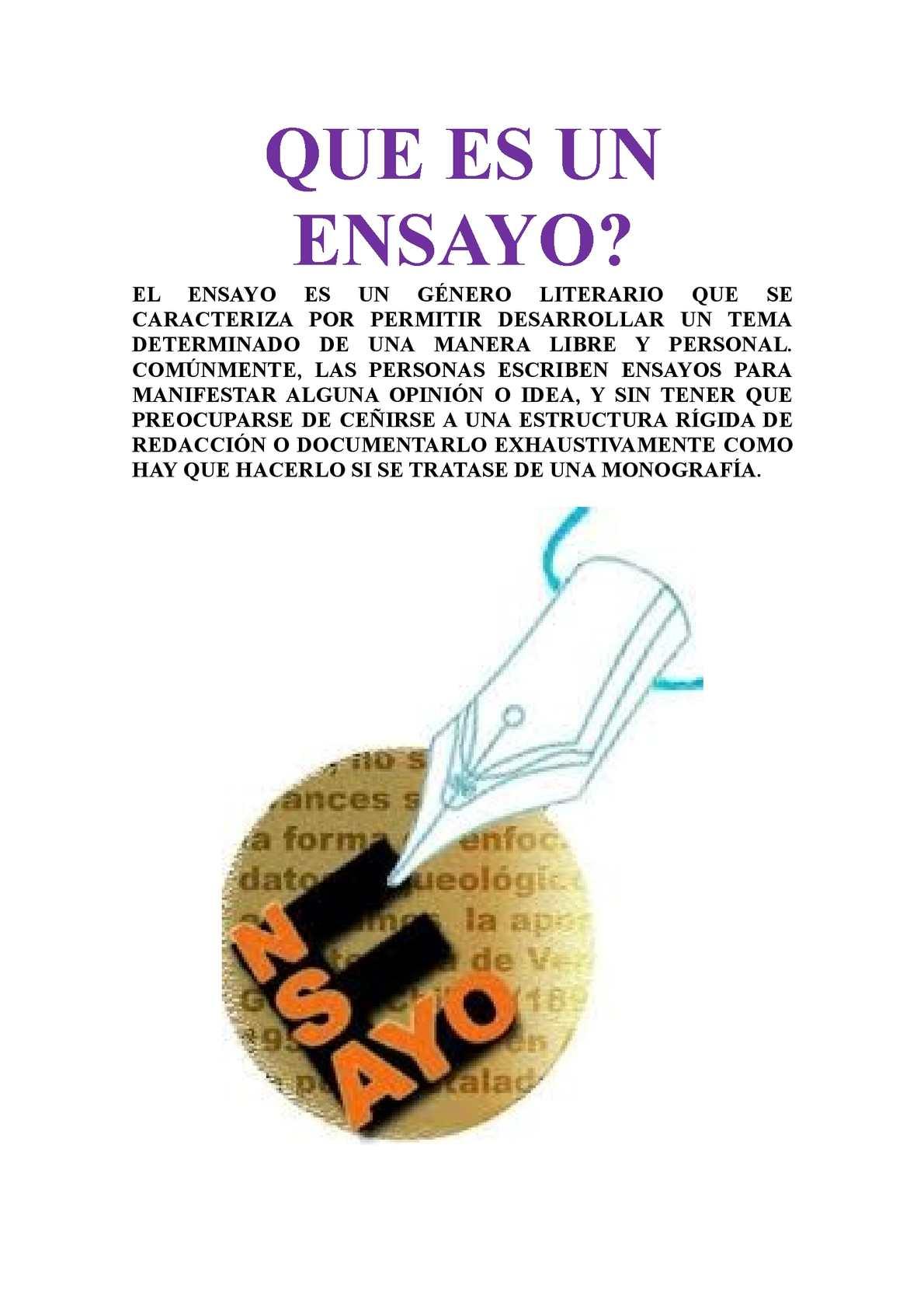 Calaméo Ensayo