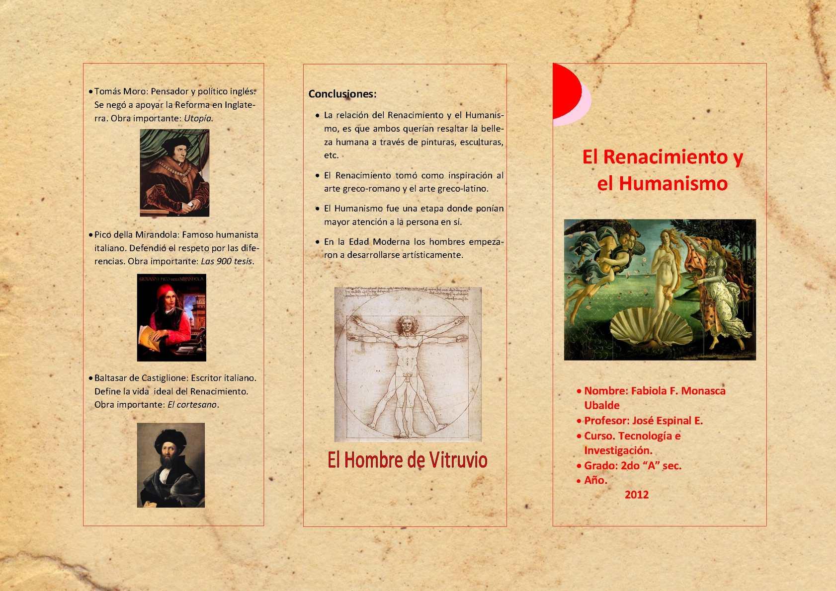d7c4fdefd9d Calaméo - Triptico del Renacimiento y Humanismo
