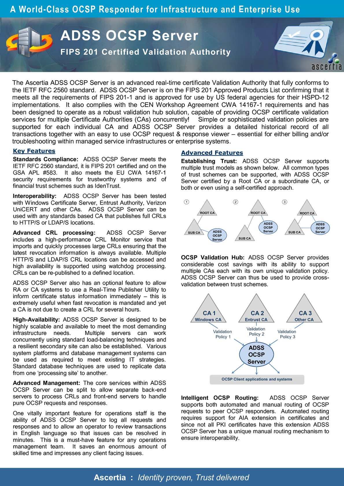 Calaméo - ADSS-OCSP-Server-datasheet
