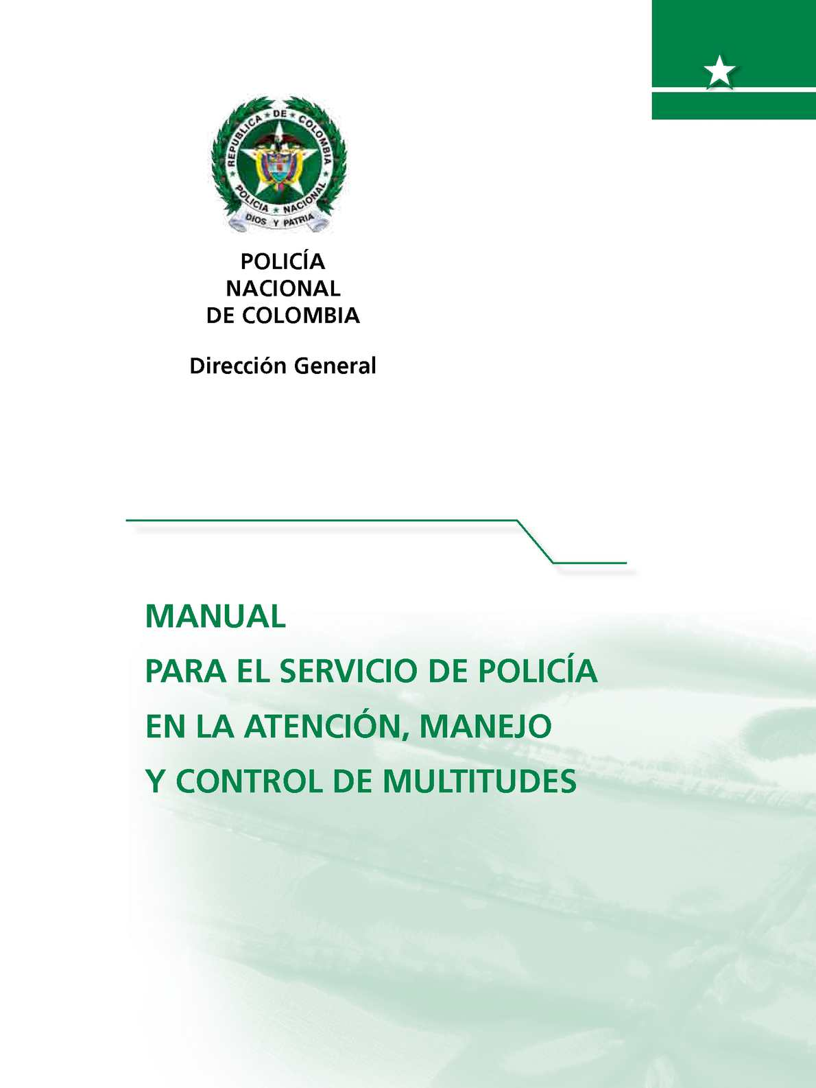 Calaméo 1 Manual Para El Servicio De Policía En La