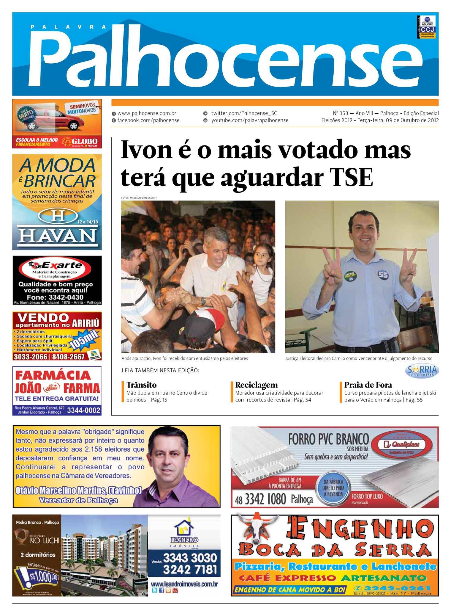 92d01d28c Calaméo - Jornal Palavra Palhocense - Edição 353