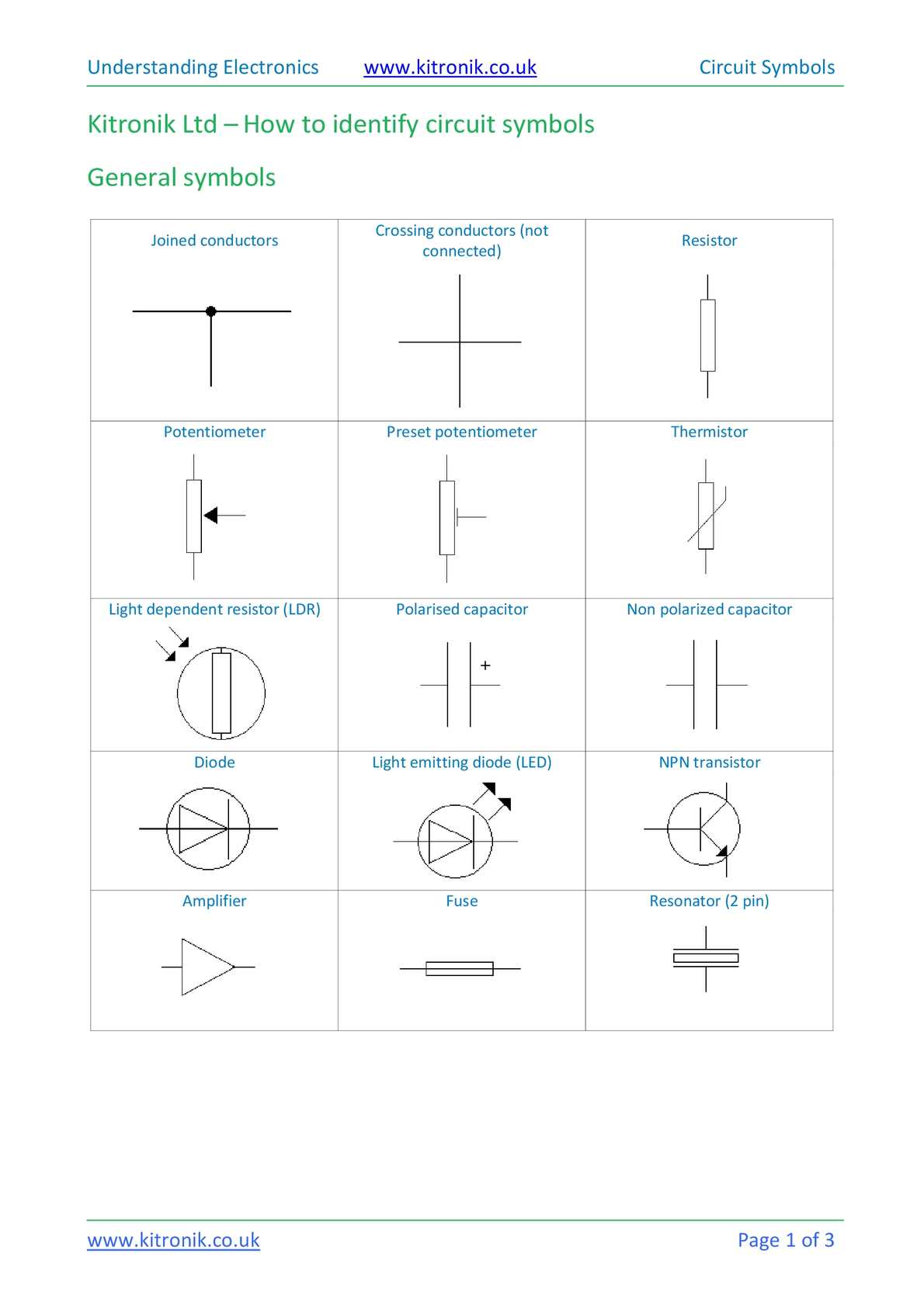 Calamo How To Identify Electronic Circuit Symbols Double Pole Throw Dpdt The Schematic Symbol For