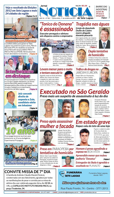65a85b35f Calaméo - Edição 420 | Jornal Notícia