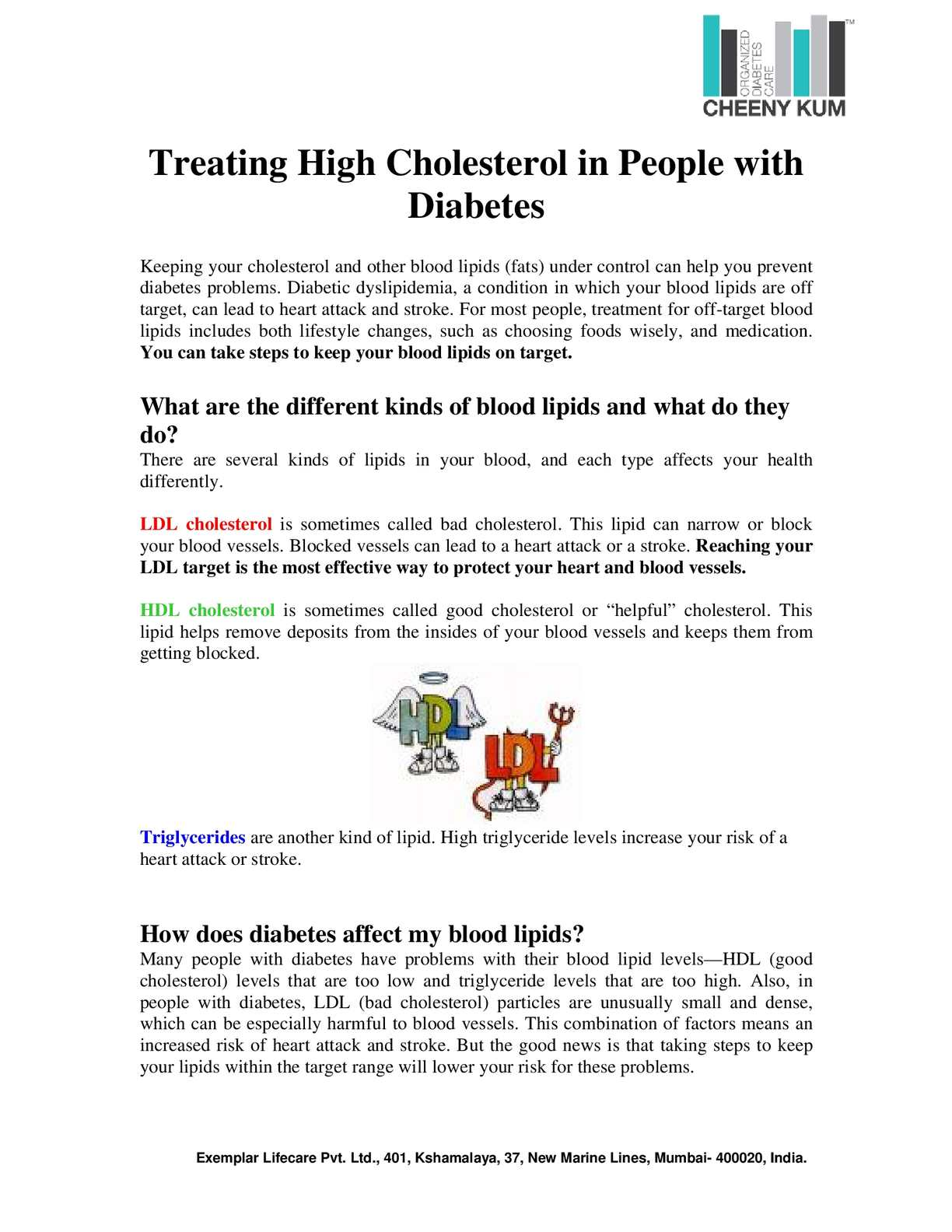 Calameo Treating High Cholesterol In People With Diabetes