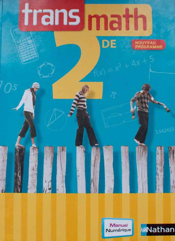 Livre maths 2nde