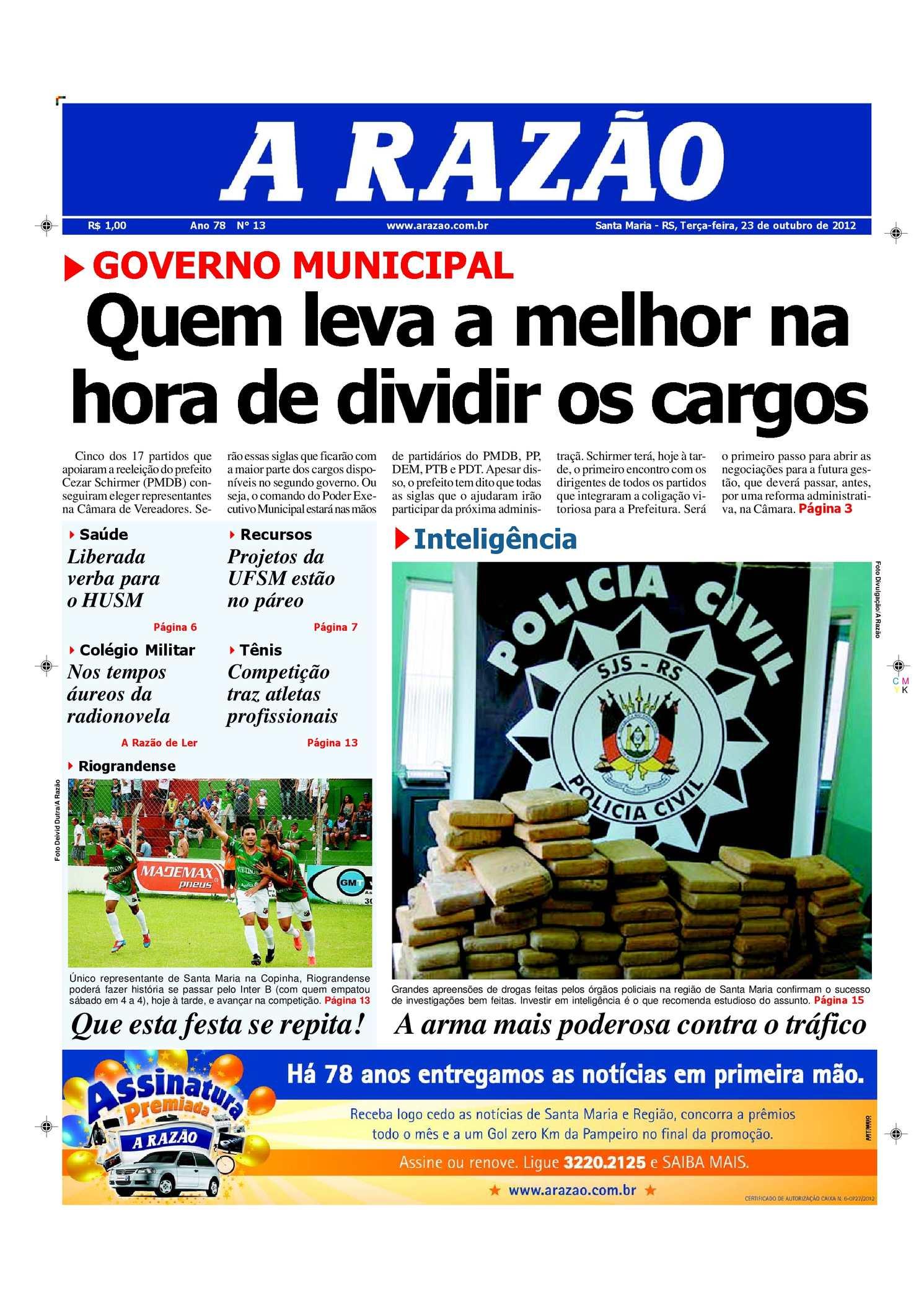 Calaméo - Jornal A Razão Santa Maria - 23102012 77ee021c70