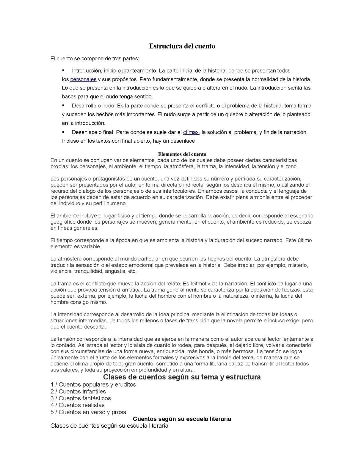 Calaméo Estructura Del Cuento