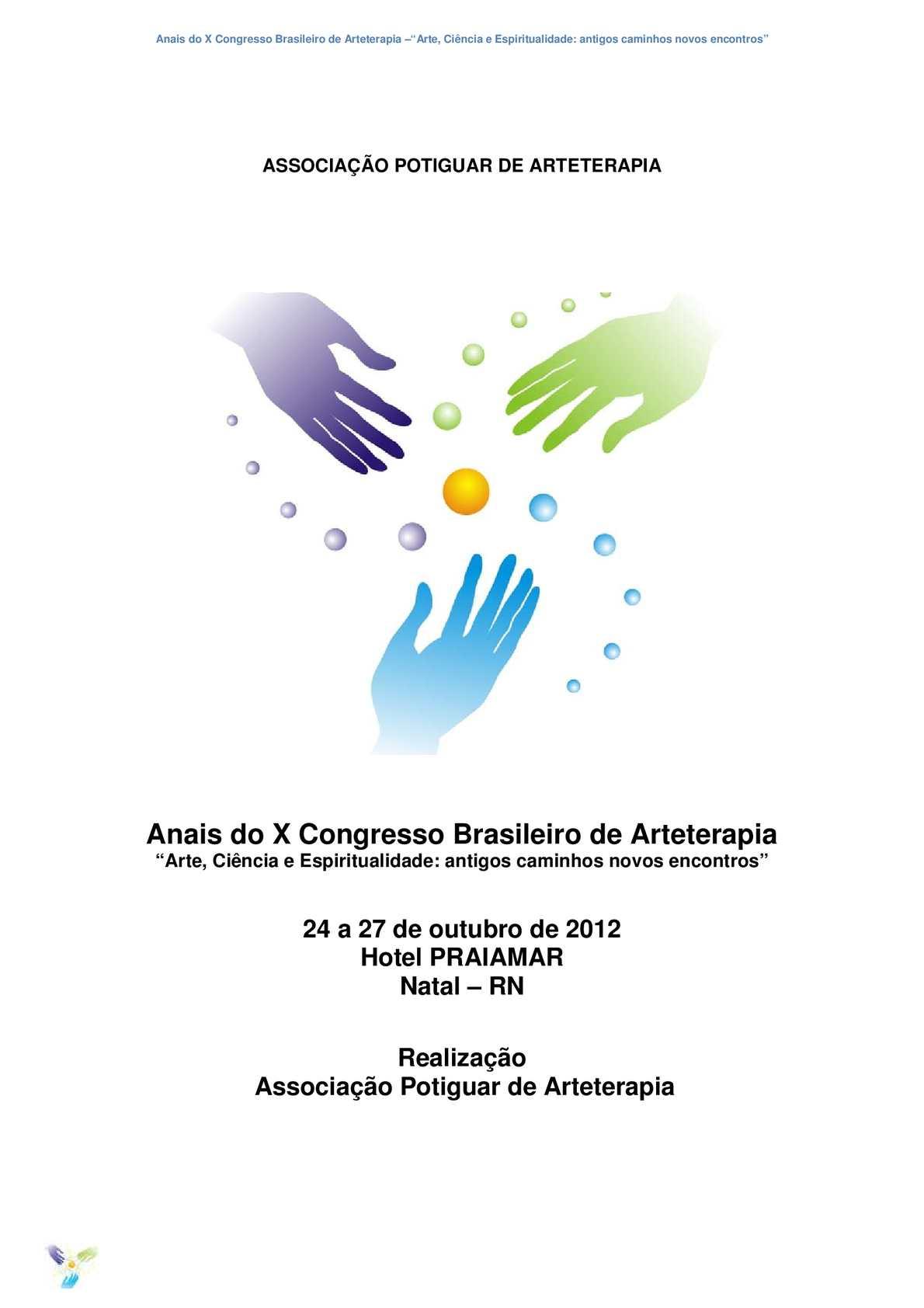 6524547605272 Calaméo - Anais X Congresso Brasileiro de Arteterapia - Natal RN