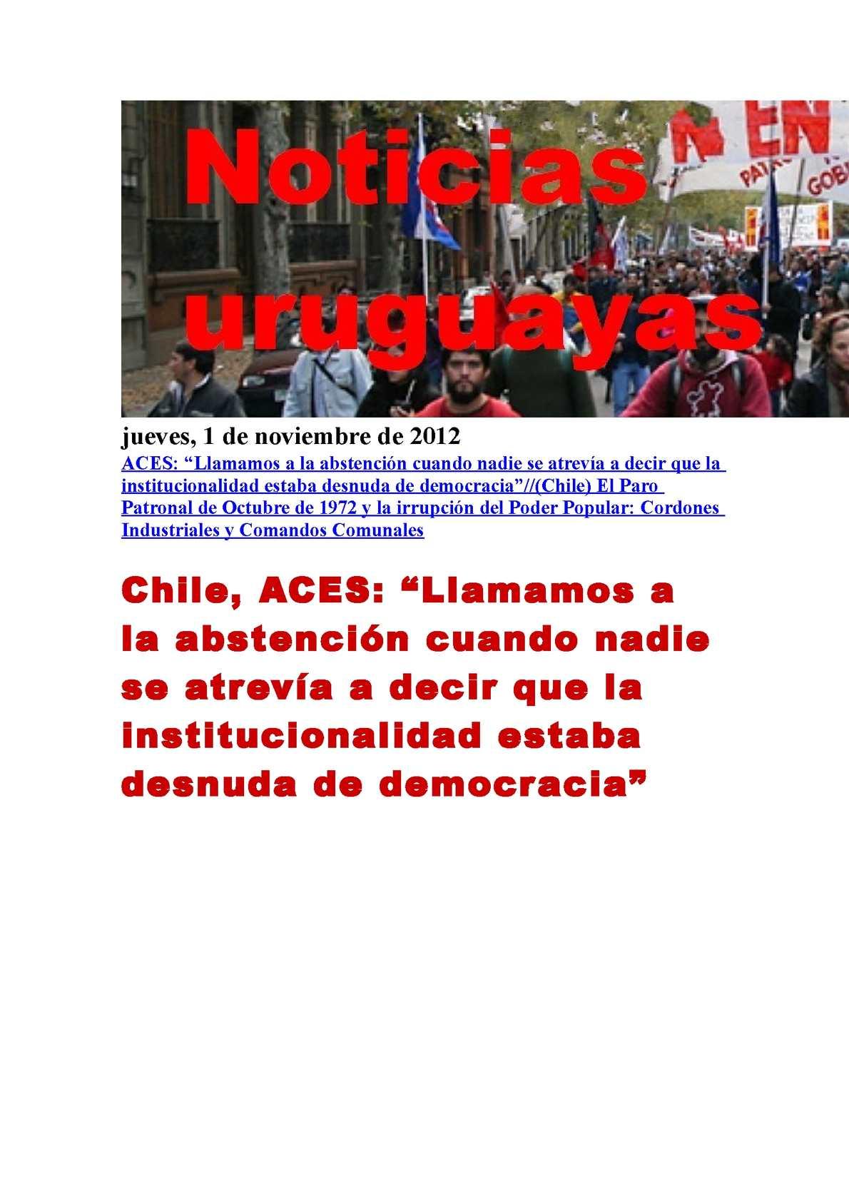 Al Entregar Una Pizza Sale Una Chica Desnuda calaméo - noticias uruguayas jueves 1 de noviembre del 2012