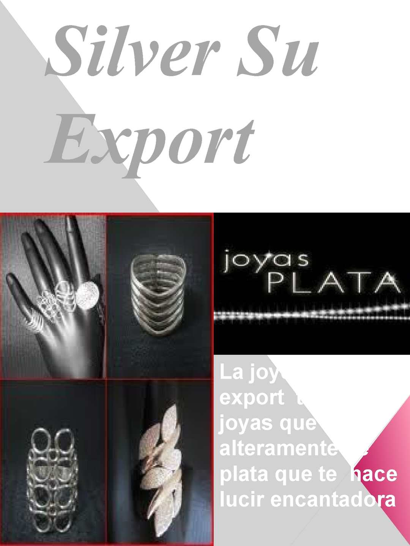 silver  Export