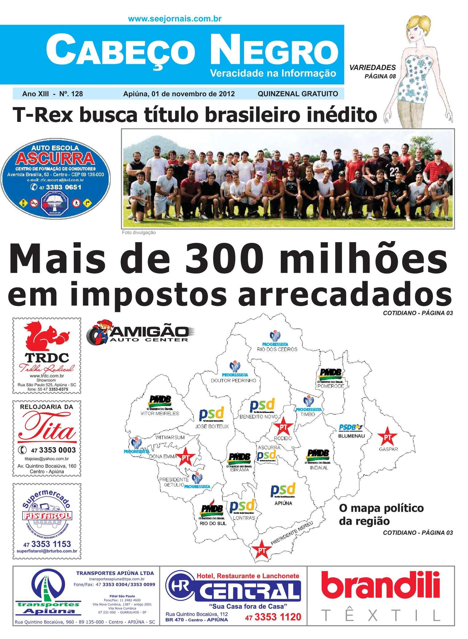 ef71a66465 Calaméo - Jornal Cabeço Negro - Edição 128