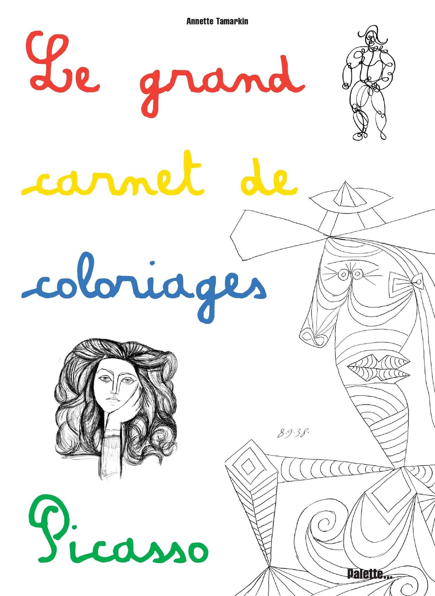 Calaméo - Le Grand carnet de coloriages Picasso
