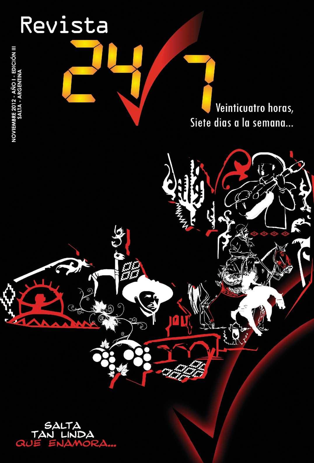 Revista 24/7 Edición Noviembre 2012