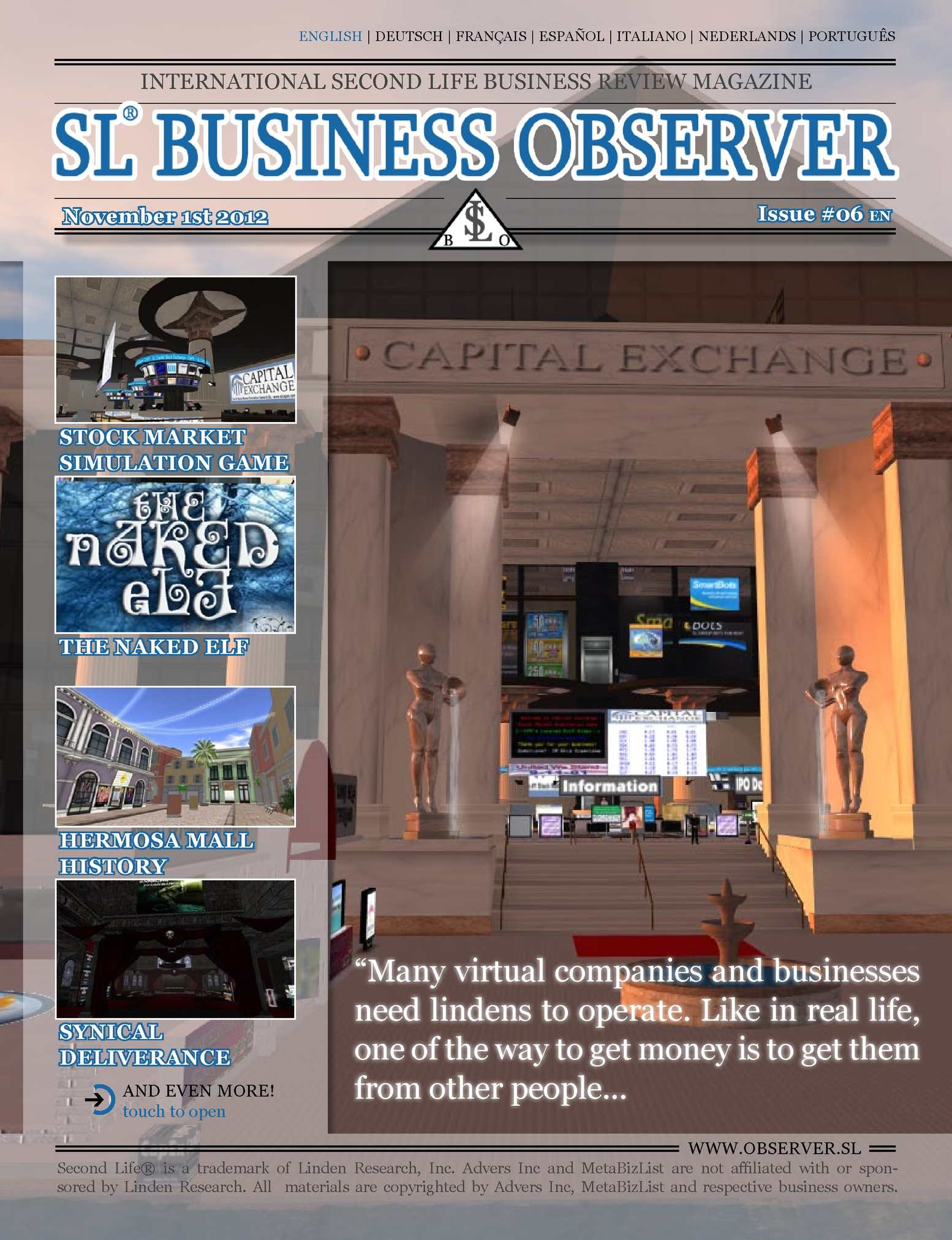 Calaméo - SL Business Observer #06, English