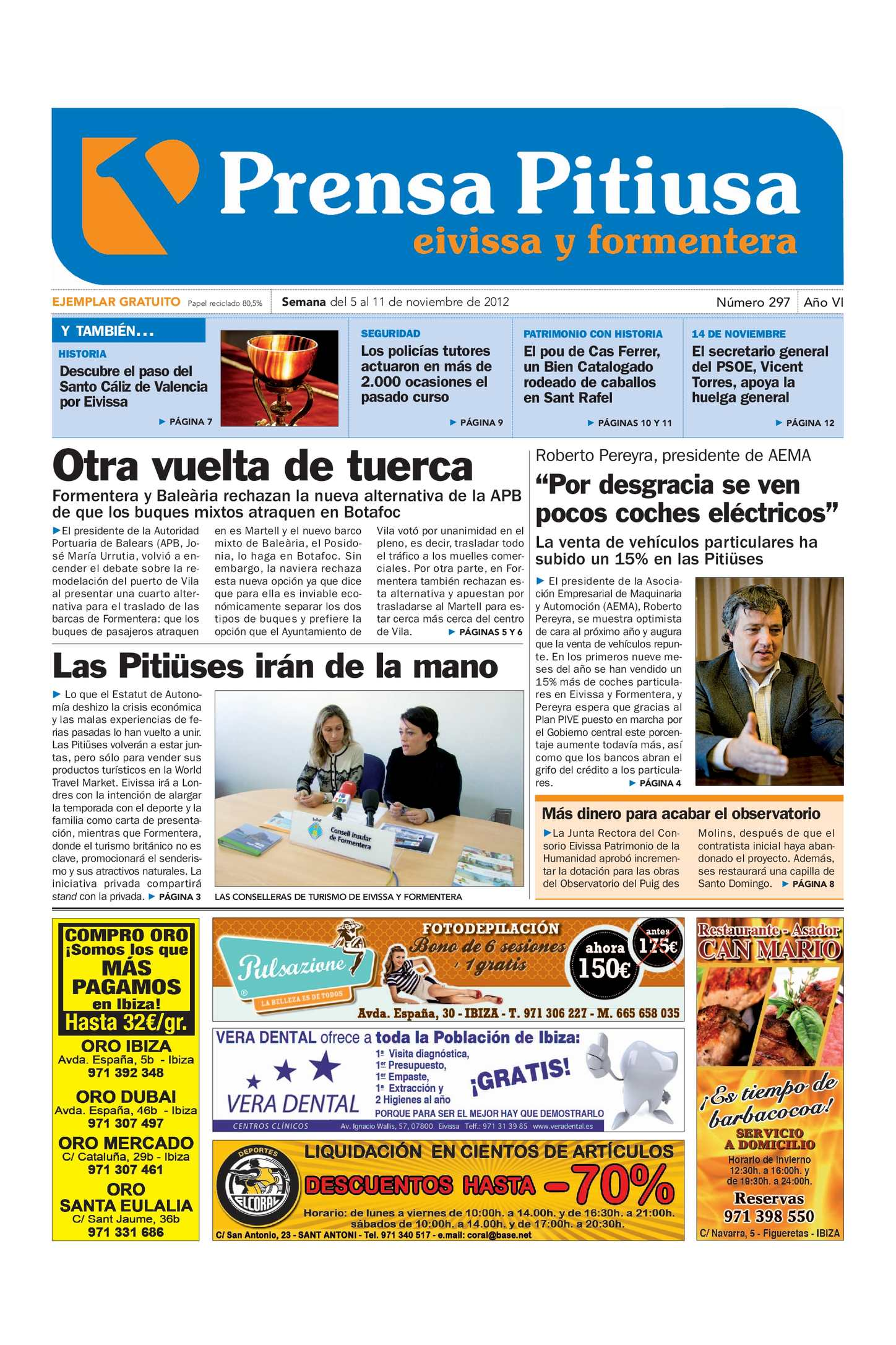 Calaméo Calaméo Pitiusa Pitiusa Prensa Calaméo 297 297 Pitiusa Prensa Prensa edición edición 5Lc4R3Ajq