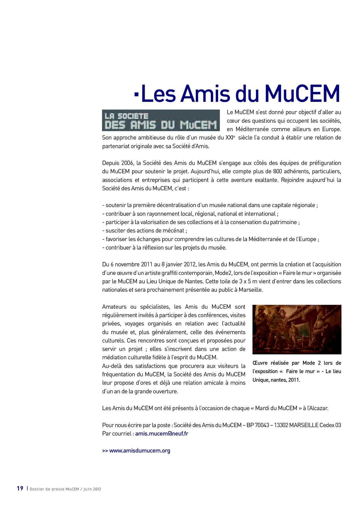Dossier De Presse Mucem Calameo Downloader