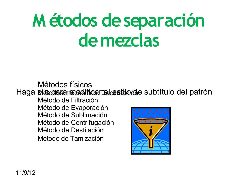 Calaméo Metodos De Separacion De Mezclas