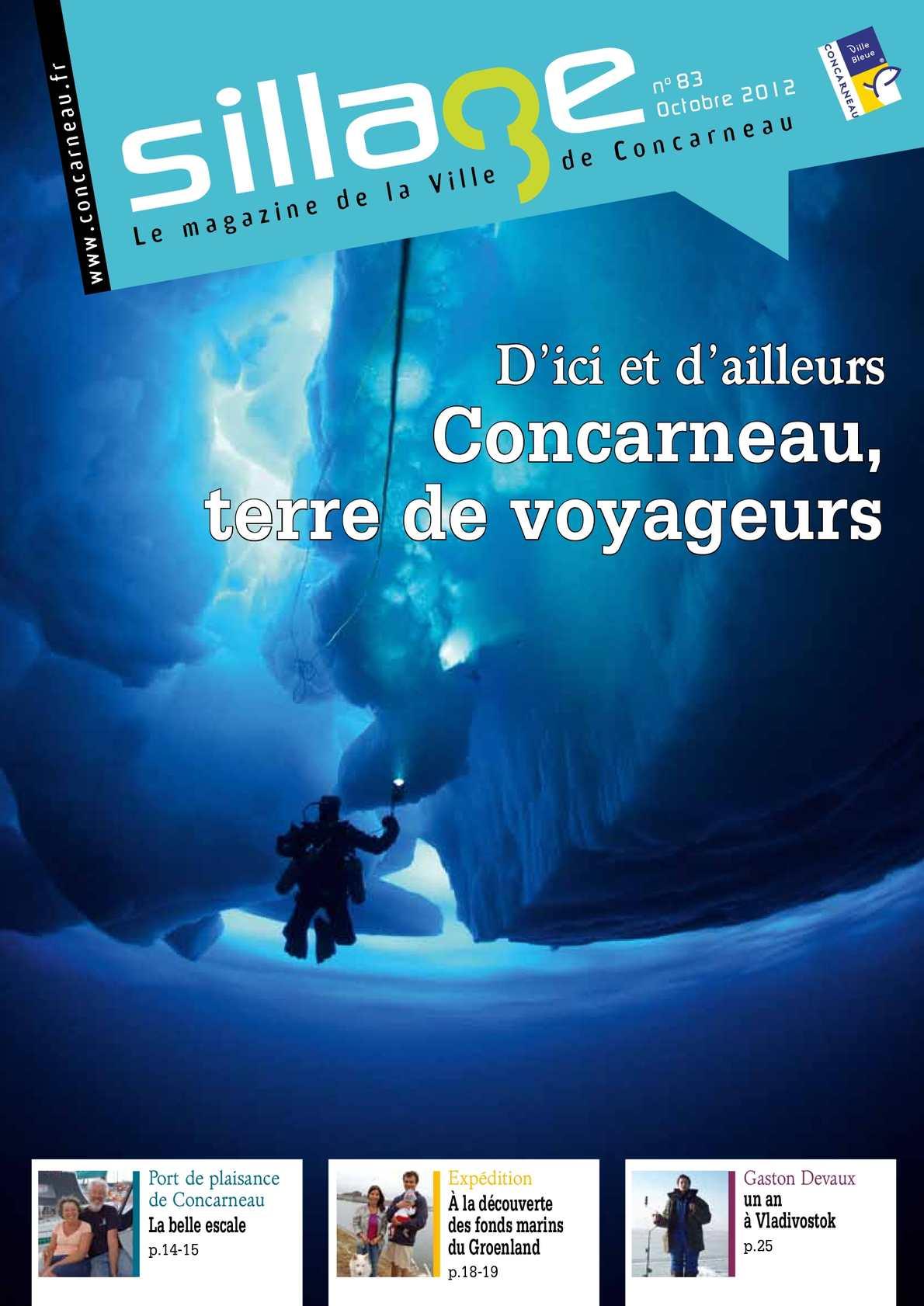 Calaméo   Magazine Sillage n°40 octobre 40   Ville de Concarneau