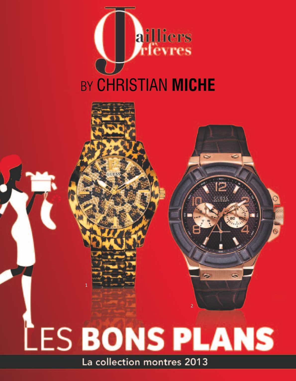 Catalogue Tendances Montres 2013