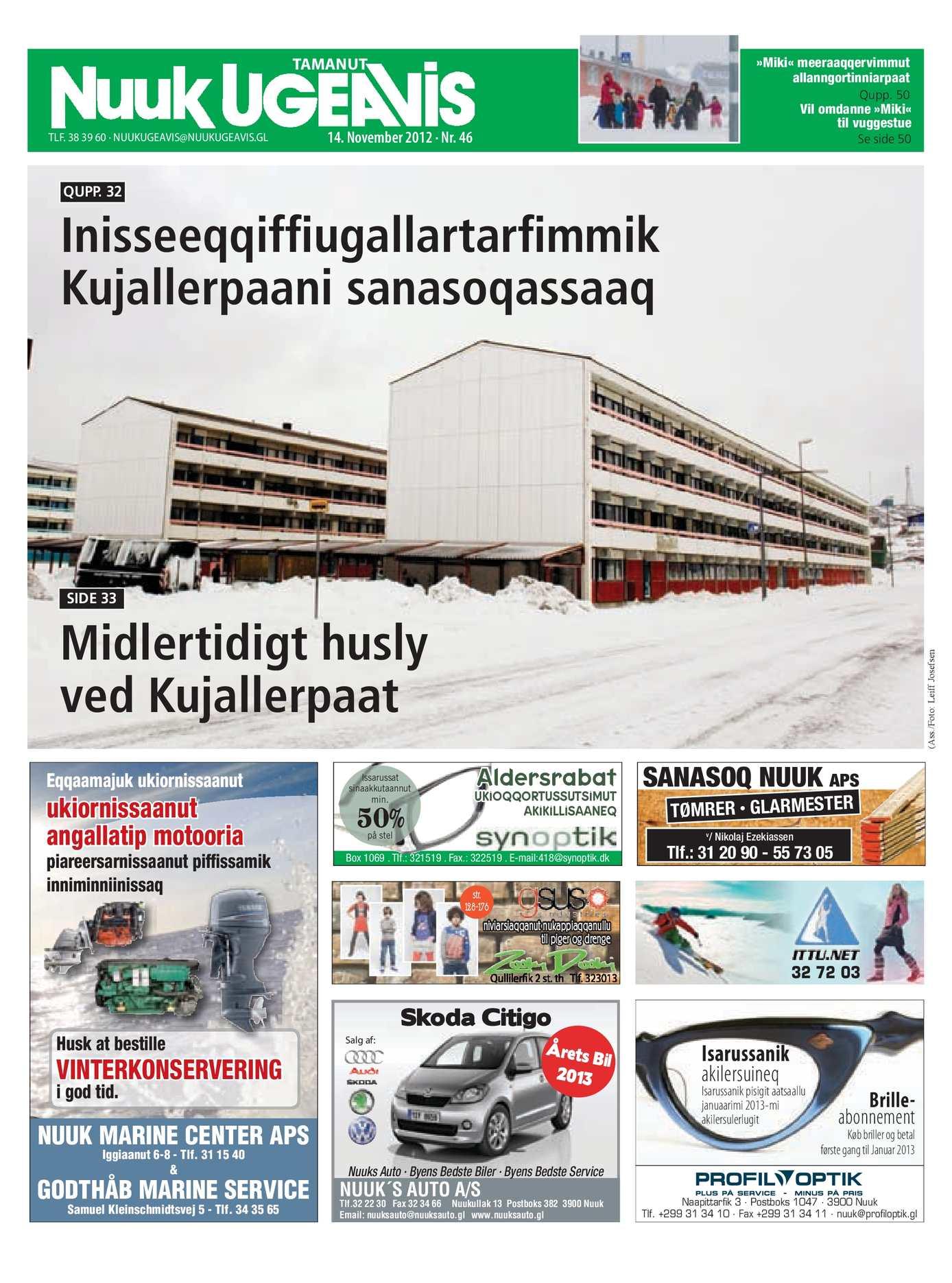 b3e6c45c Calaméo - Nuuk Ugeavis Uge 46_2012