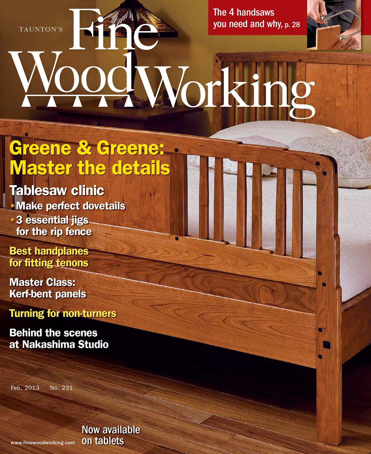 calaméo - fine woodworking #231 - preview