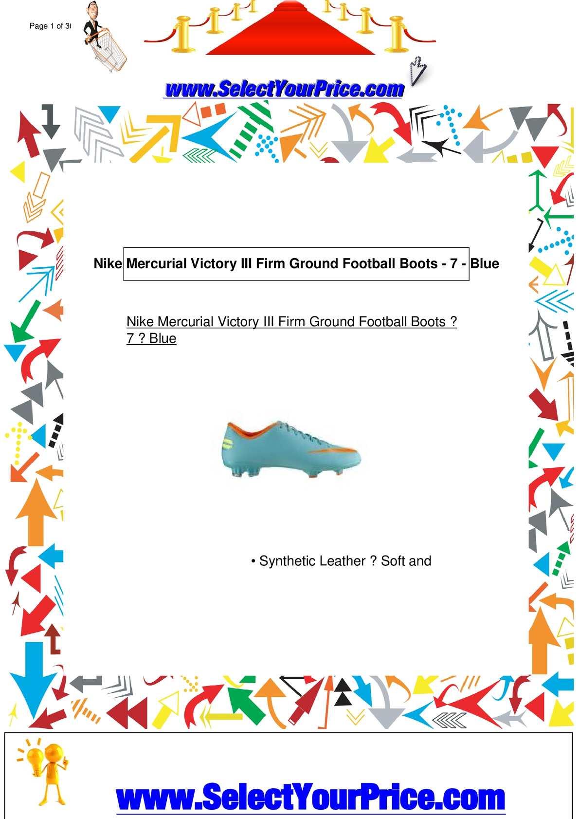 Calaméo - Nike-Mercurial-Victory-Iii-Firm-Ground-Football-Boots-7-Blue c7cb0cae6
