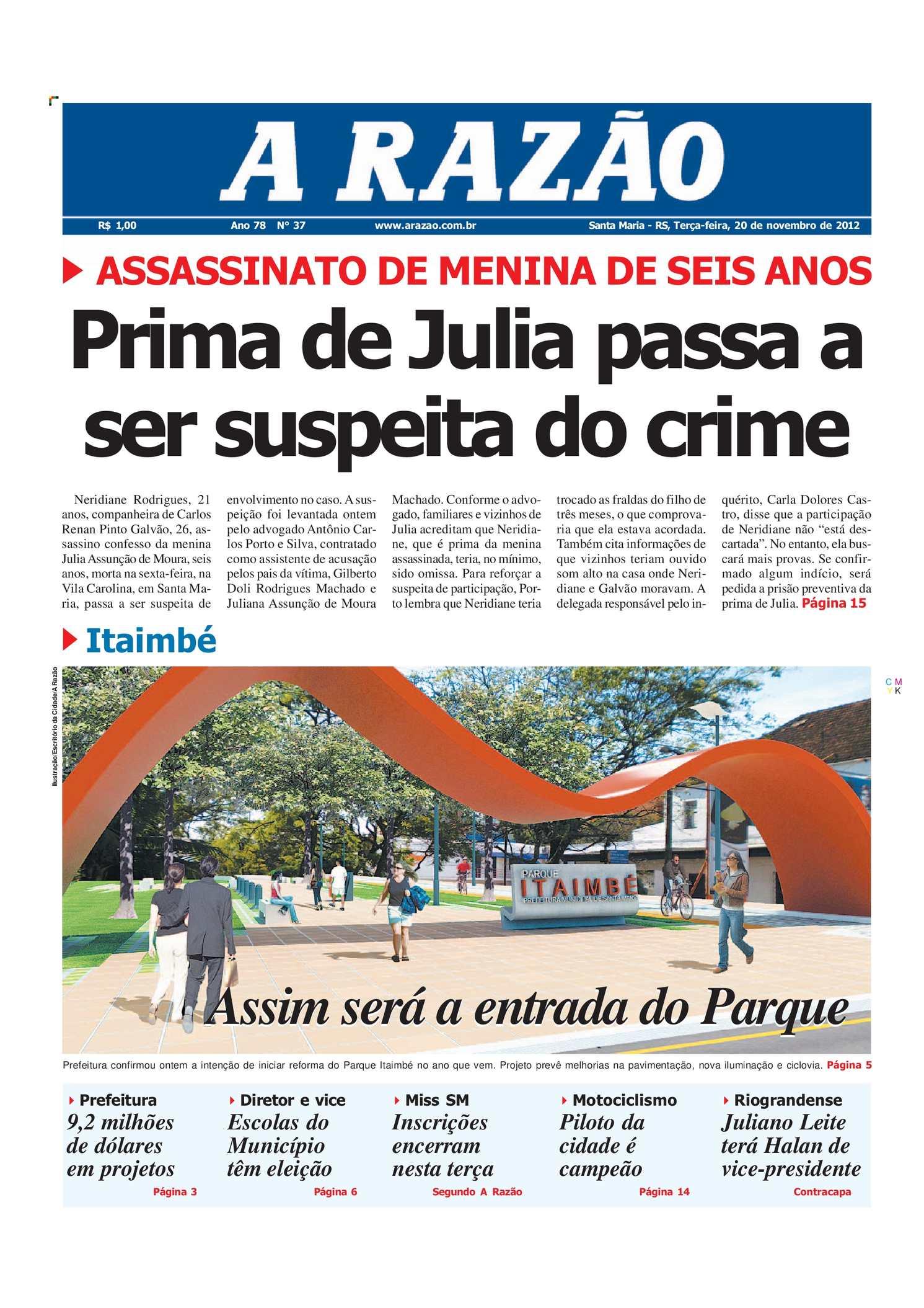 8780c83b3a221 Calaméo - Jornal A Razão Santa Maria - 20112012