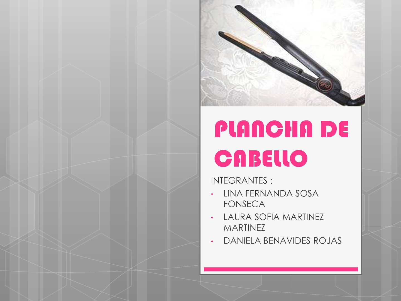 Calaméo Plancha De Cabello