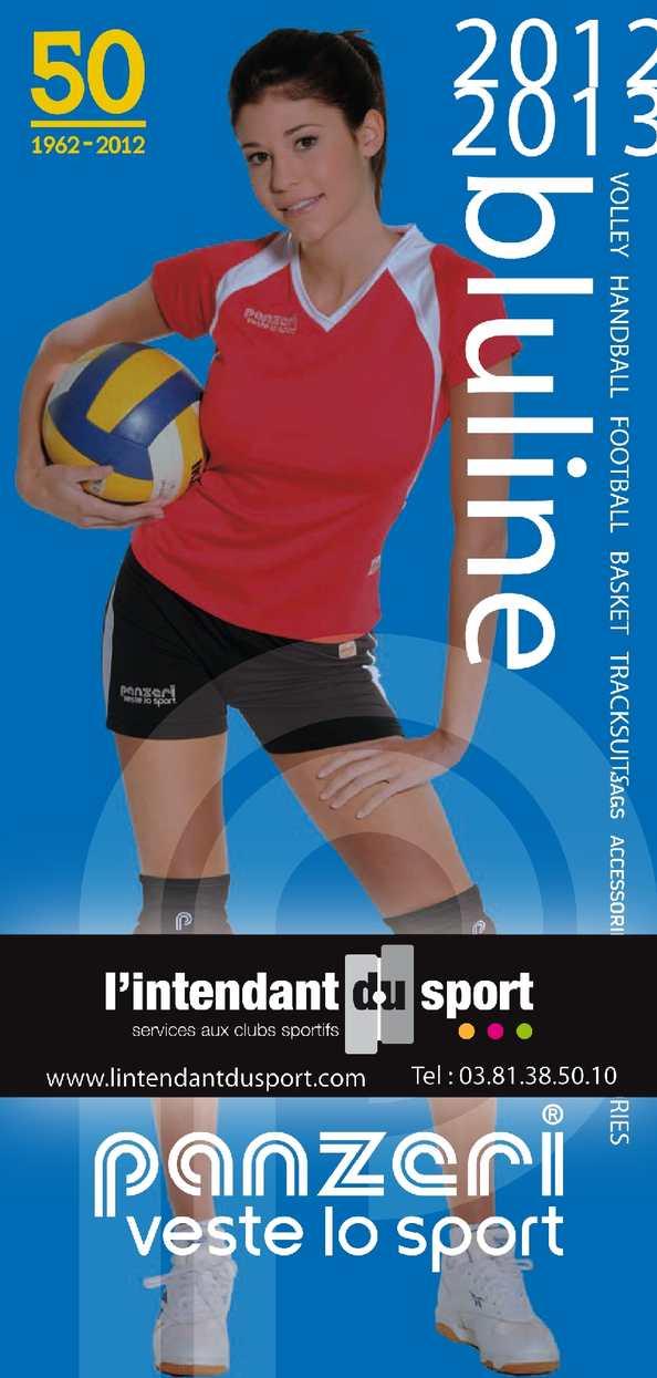 b48b800c58e Calaméo - Catalogue Panzeri Blue Line 2012 - L'Intendant du Sport