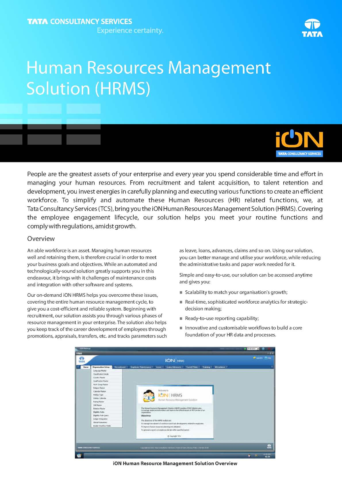 Calaméo - Human Resources Management Solution - iON Cloud ERP