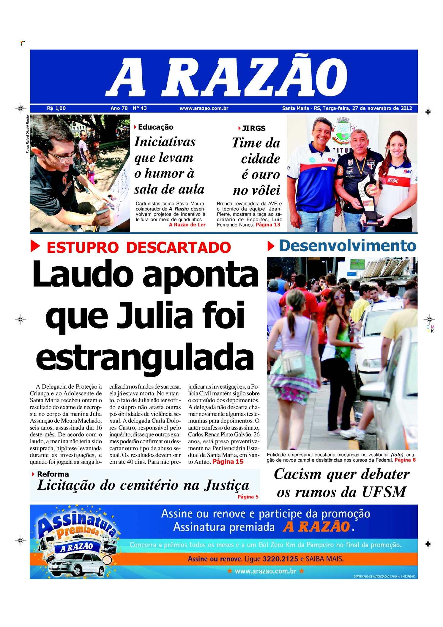 Calaméo - Jornal A Razão Santa Maria - 27112012 019b8a8999