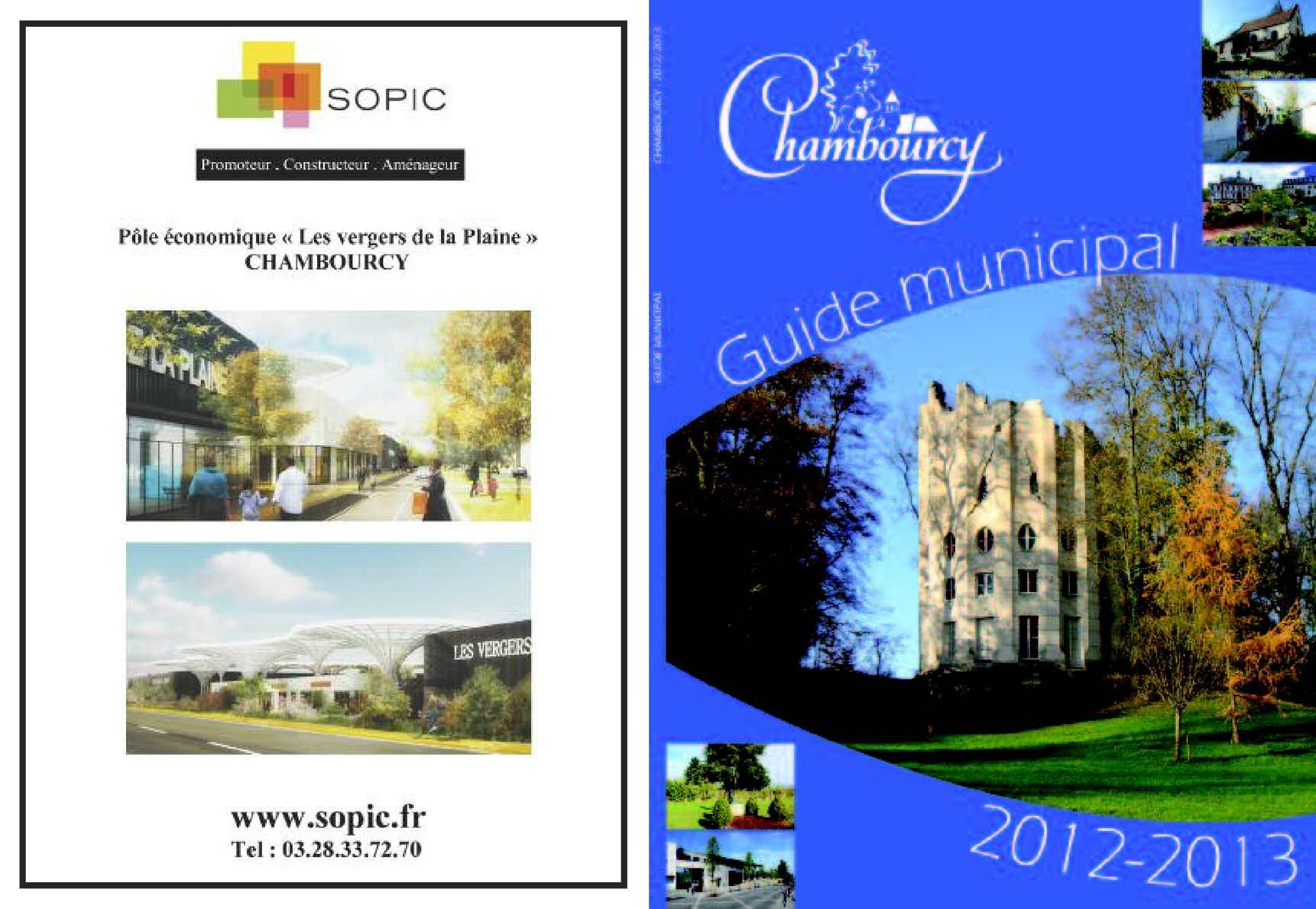 Calameo Guide Municipal Chambourcy 2012 2013