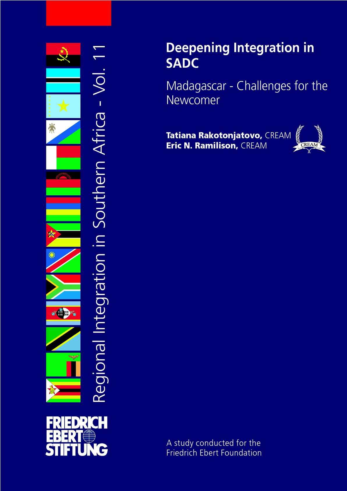 Calaméo - Deepening integration in SADC | Madagascar - Challenges