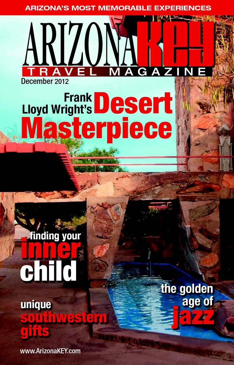 48a30bc317a Calaméo - Arizona KEY Travel Magazine December 2012 Issue