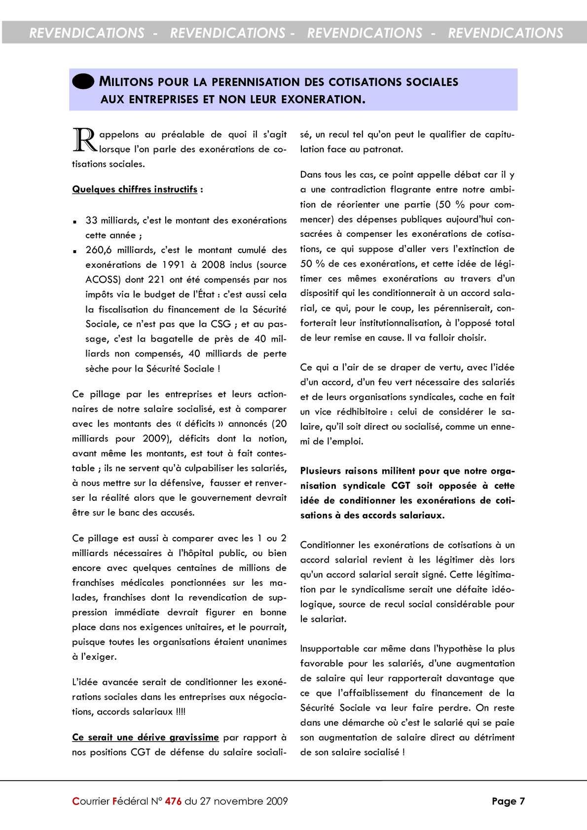 Calameo 5 1 Exonerations De Cotisations Sociales